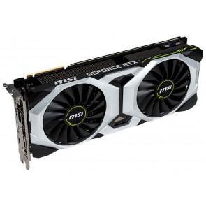 MSI GeForce RTX 2080 VENTUS 8G OC / 8GB GDDR6 / PCI-E / 3x DP / HDMI / USB Type-C RTX 2080 VENTUS 8G OC