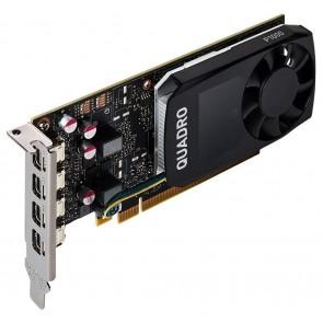 PNY Quadro P1000 V2 DP / 4GB GDDR5 / PCI-E / 4x miniDP 1.4 / Low profile bracket v balení VCQP1000V2-PB