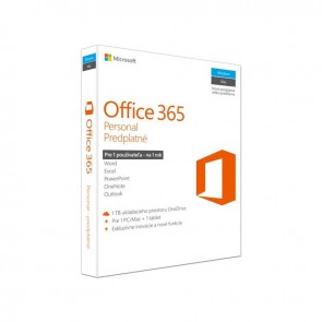 Software Microsoft Office 365 personal SK (QQ2-00496)