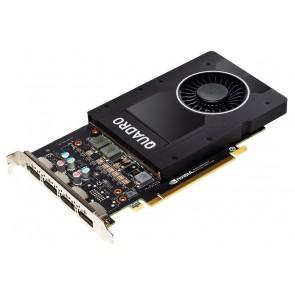 HP Nvidia Quadro P2200 5GB 4x DP 1.4 6YT67AA